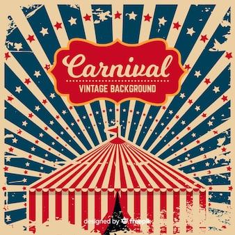 Fondo retro de carnaval