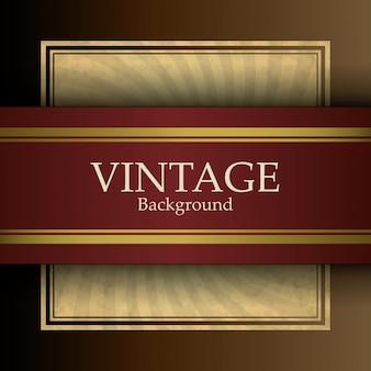 Fondo retro vintage