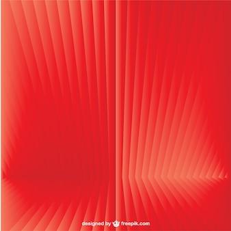 Fondo rojo en 3d