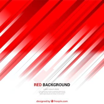 Fondo rojo abstracto de líneas