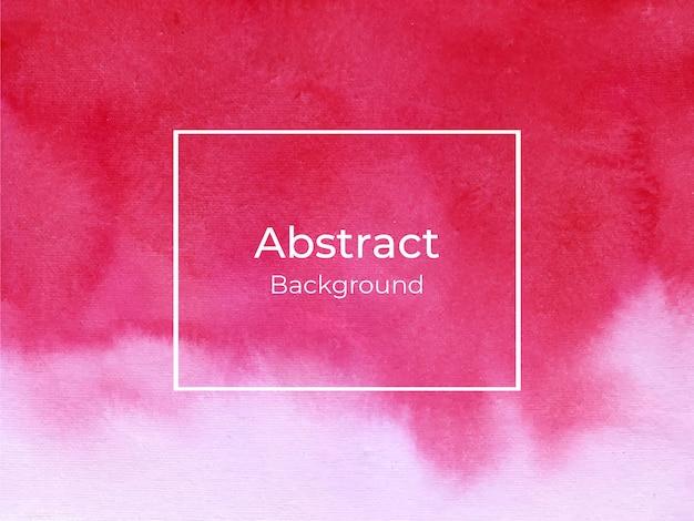 Fondo rojo abstracto de la textura de la acuarela