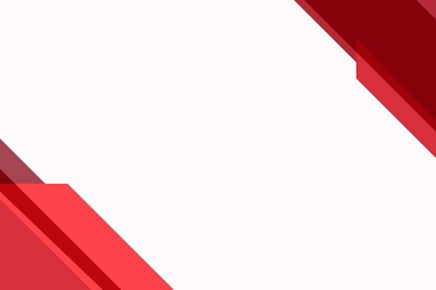 Fondo rojo en blanco simple para negocios