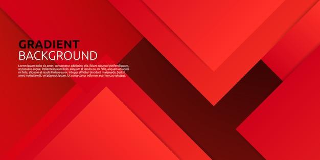 Fondo rojo degradado abstracto