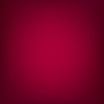 Fondo rojo liso desenfocado