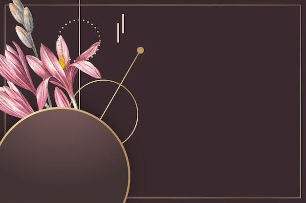Fondo rosa amarilis