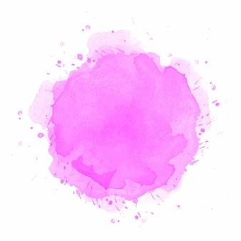 Fondo de salpicaduras de acuarela rosa abstracta