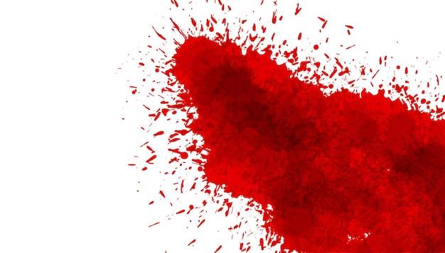 Fondo de salpicaduras de textura de mancha de sangre