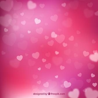 Fondo de san valentin rosa