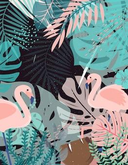 Fondo de la selva
