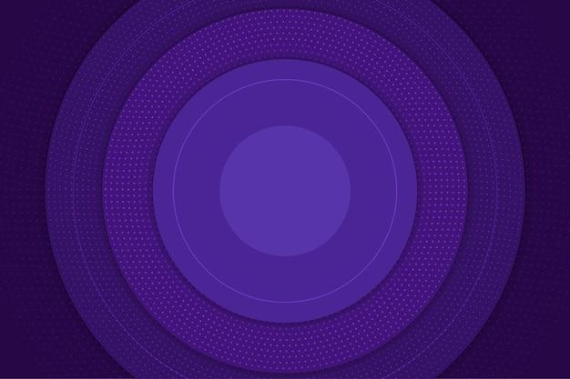 Fondo de semitono abstracto violeta circular