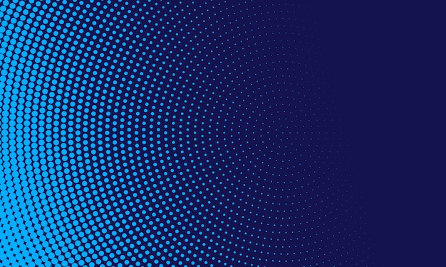 Fondo de semitono azul abstracto