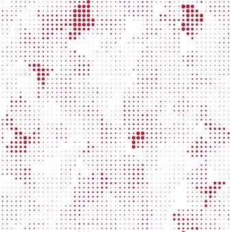 Fondo de semitono creativo rojo y blanco