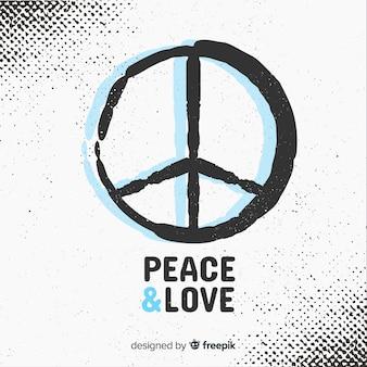Fondo signo de la paz