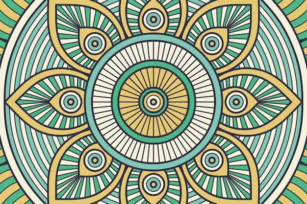 Fondo simple con elementos geométricos