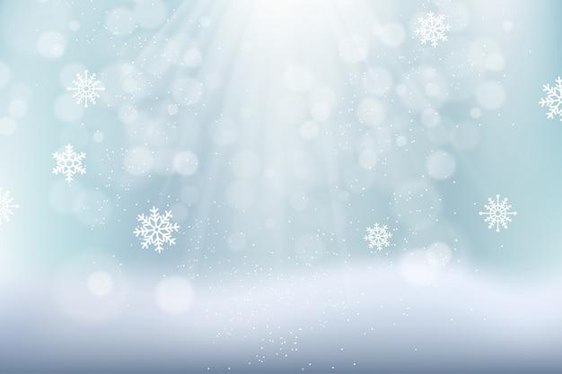 Fondo simple hermoso invierno