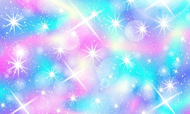 Fondo de sirena arcoiris. patrón de unicornio