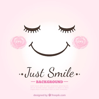 Fondo de sonrisa lindo