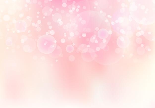 Fondo suave borroso rosa abstracto del bokeh del foco