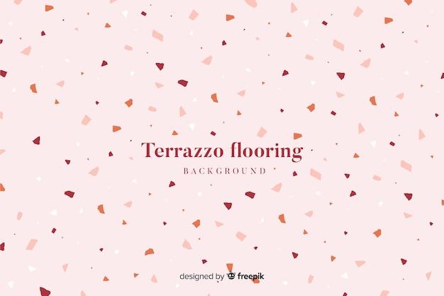 Fondo de suelo abstracto con textura terrazzo