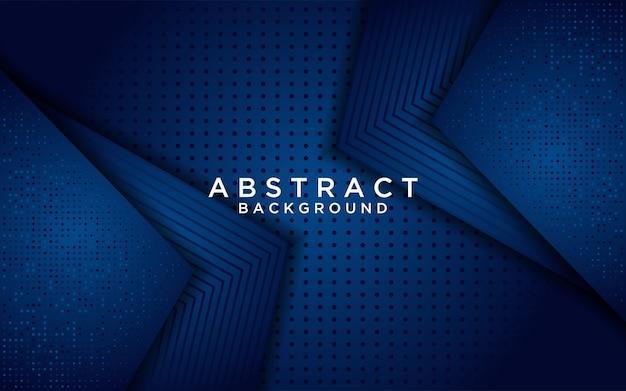 Fondo de superposición azul clásico abstracto con brillo