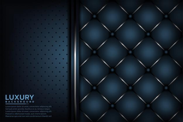 Fondo de superposición de capa con textura azul marino