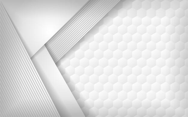 Fondo de superposición estilo texturizado blanco 3d