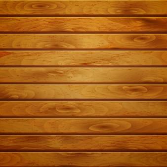 Fondo de tablones de madera horizontales en color marrón