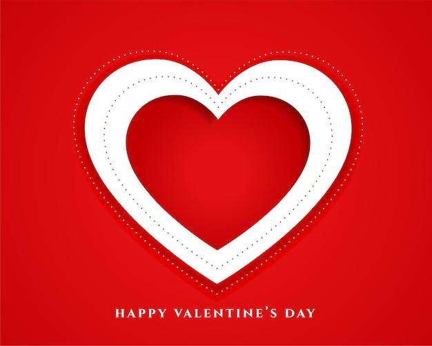 Fondo de tarjeta de celebración del día de san valentín