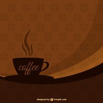 Fondo de taza de café