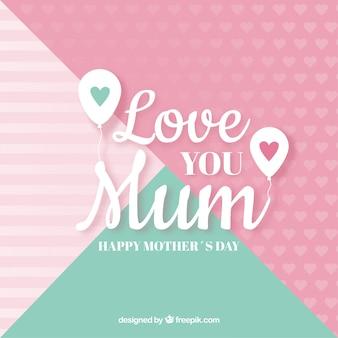 Fondo te amo mamá