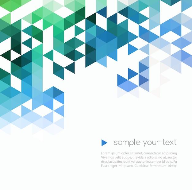 Fondo de tecnología abstracta en color