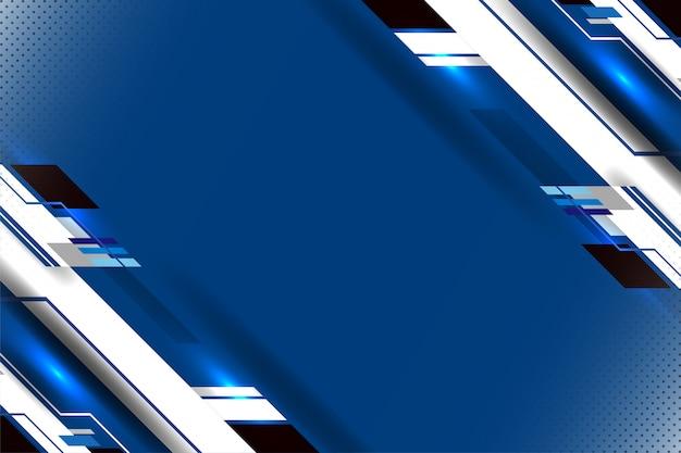 Fondo de tecnología abstracta con textura geométrica
