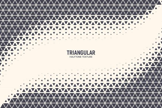 Fondo de tecnología abstracta de triángulos