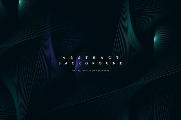 Fondo de tecnología azul oscuro