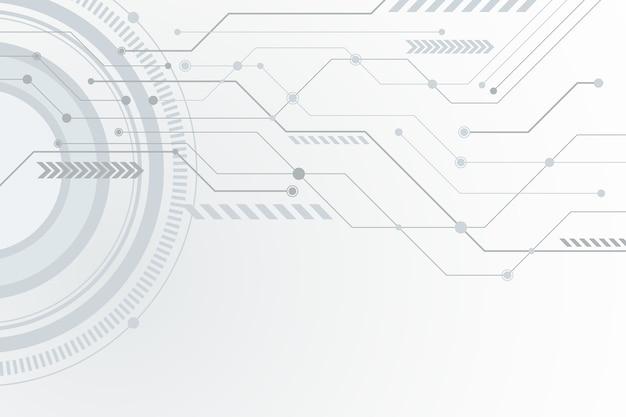 Fondo de tecnología cibernética
