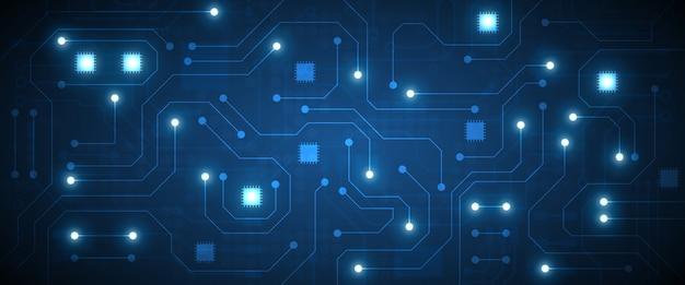 Fondo de tecnología de circuito