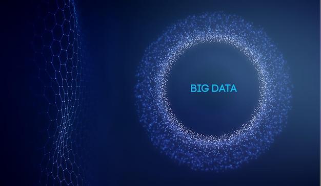 Fondo de tecnología de datos grandes. aprendizaje profundo de algoritmos de código binario. análisis de realidad virtual. máquina de aprendizaje de ciencia de datos. investigación y automatización de datos de inteligencia artificial.