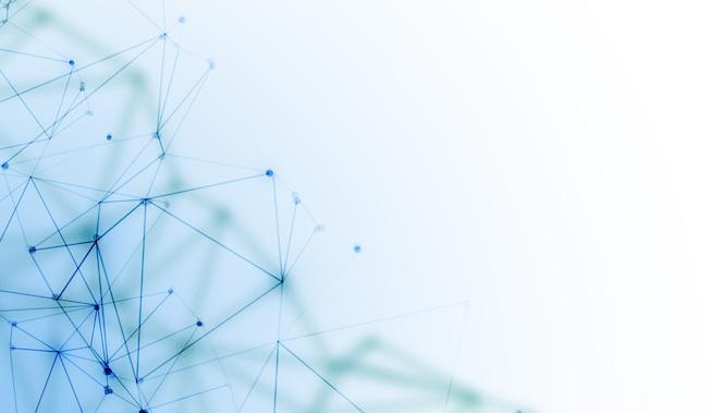 Fondo de tecnología digital de alambre de malla de red