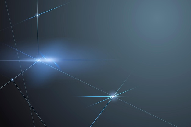 Fondo de tecnología digital con formas geométricas de neón azul