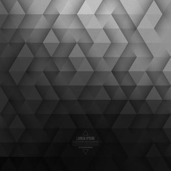 Fondo de tecnología geométrica abstracto vector gris