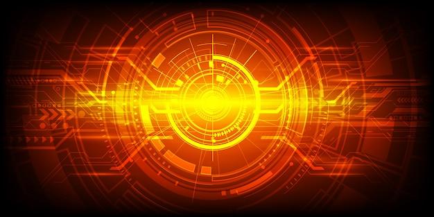 Fondo de tecnología de ingeniería abstracta