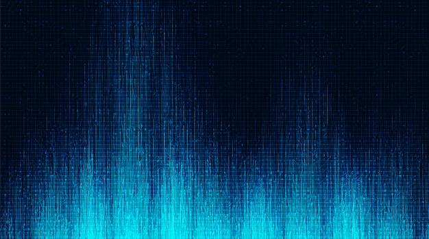 Fondo de tecnología de microchip de circuito electrónico ligero