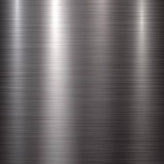 Fondo de tecnología con textura de metal