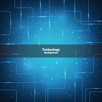 Fondo de tecnología vectorial