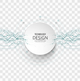 Fondo tecnológico con circuitos