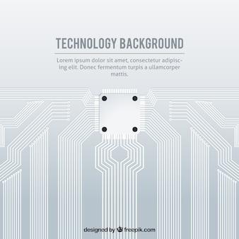 Fondo tecnológico con estilo elegante