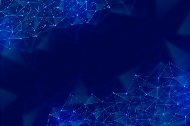 Fondo tecnológico con formas geométricas