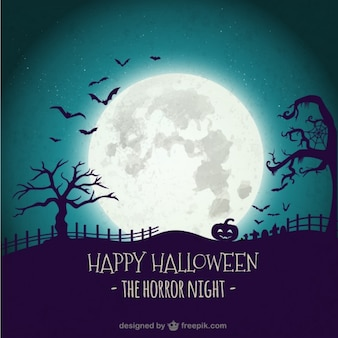Fondo tétrico de halloween