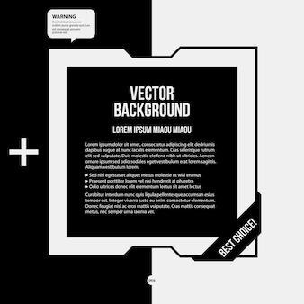 Fondo de texto monocromo en estilo estricto. útil para presentaciones y diseño web.