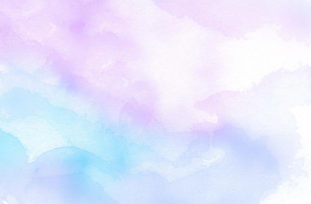 Fondo de textura abstracta acuarela azul y violeta